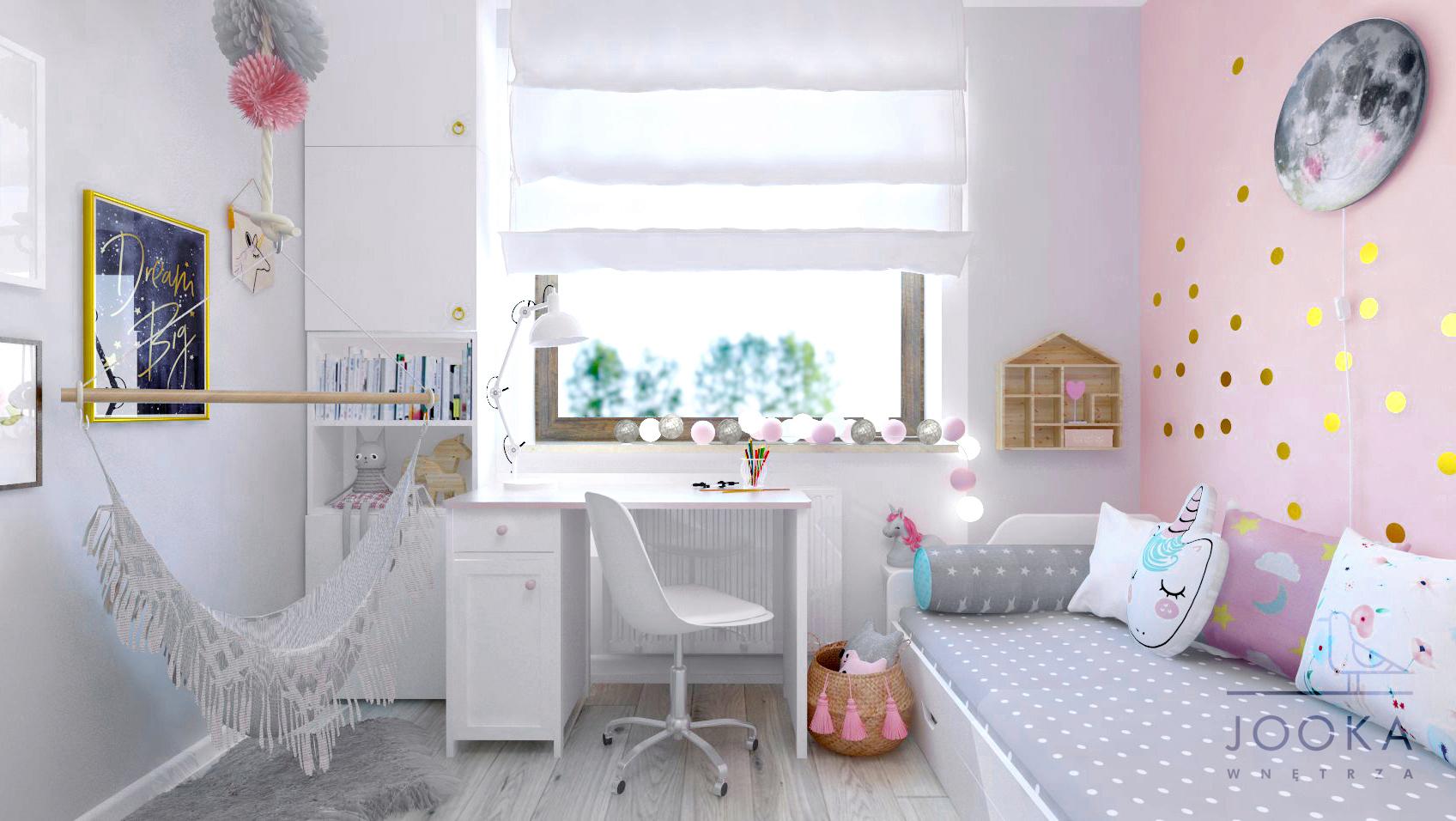 aad32635 O czym warto pamiętać projektując pokój dziecięcy – pokój Róży ...